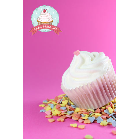 CP Heart 6mm Colors Sprinkles  125gr