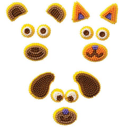 Wilton Animals Make-A-Face Icing Decorations