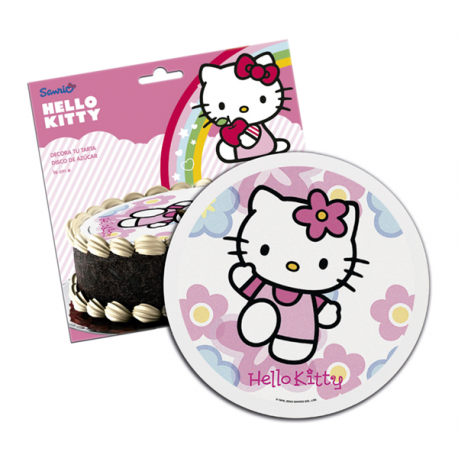 Dekora Hello Kitty Sugar Cake Top 16cm