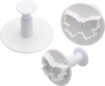KC Sweetly Does It Set of Three Butterfly Fondant Plunger Cutters