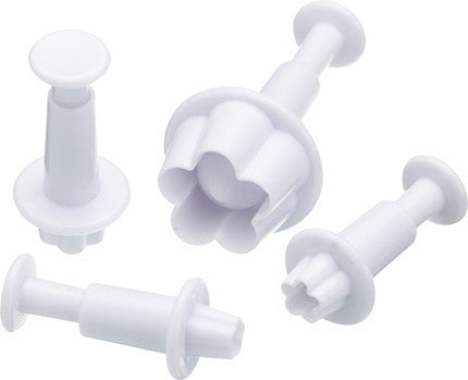KC Sweetly Does It Set of Four Daisy Fondant Plunger Cutters