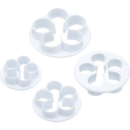 KC Sweetly Does It Set of Four Rose Fondant Cutters