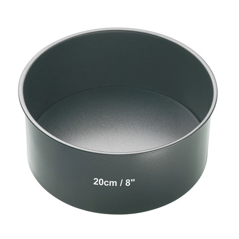 MASTER CLASS NON-STICK 20CM LOOSE BASE DEEP CAKE PAN ROUND