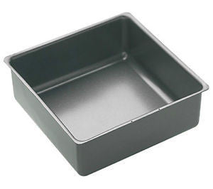 MASTER CLASS NON-STICK 25CM LOOSE BASE DEEP CAKE PAN SQUARE