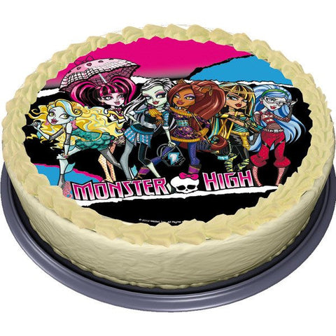 DB Monster High Cake Top Edible Sugar 16cm