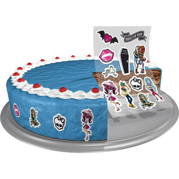 Monster High Edible Sugar Decorations 11 Pieces
