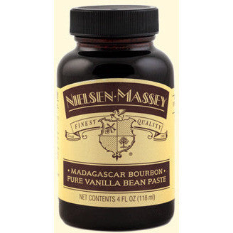 Nielsen-Massey Madagascar Bourbon Pure Vanilla Bean Paste 4oz (118ml)