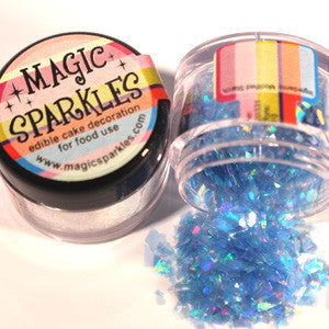 Magic Sparkles Natural Pastel Blue