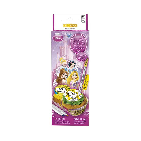 Princess Cupcake Color Kit 16pcs