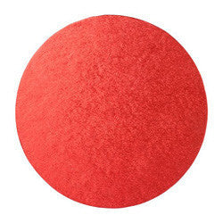 Cake Drums Red Round 12in (30cm)
