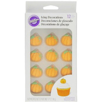 Wilton Pumpkin Royal Icing Decorations
