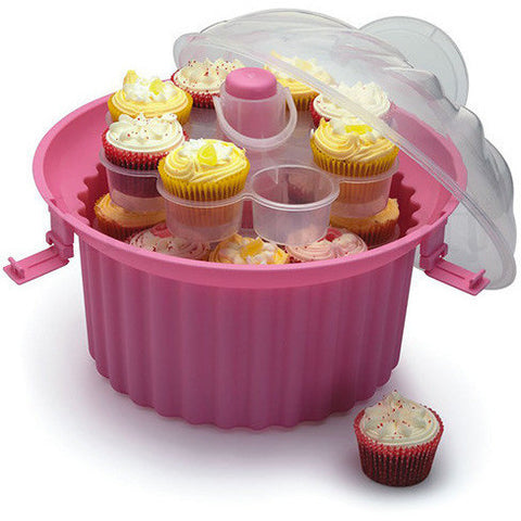 KC SWEETLY DOES IT THREE TIER CUPCAKE CARRIER