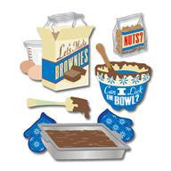 Jolee's Boutique Brownies Stickers