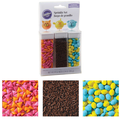 Wilton Animal Sprinkle Set