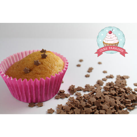 CP Chocolate Taste Stars 6mm 120gr