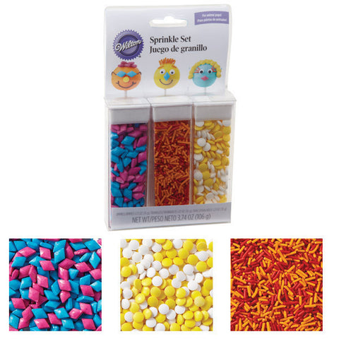 Wilton People Sprinkle Set Pops