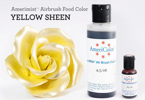 Americolor Amerimist Air Brush Color Yellow Sheen 20r