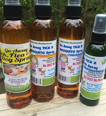Lemon Eucalyptus Blend Tick, Mosquito, Fleas and Flies Bug Spray No Deet For Kids and Dogs