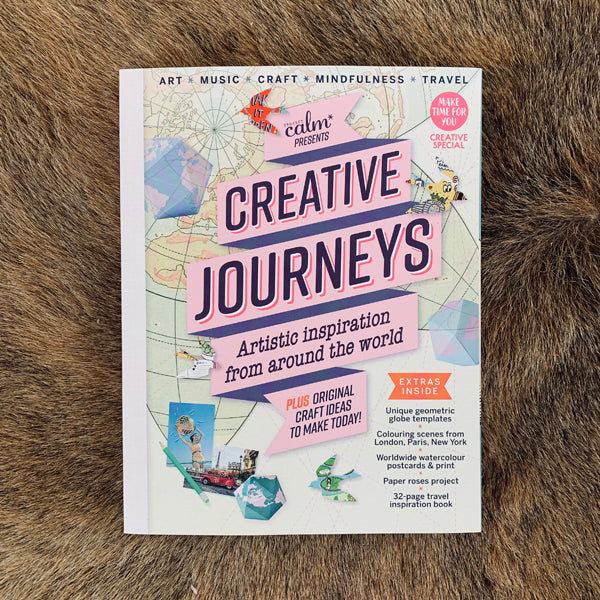 FEATURE IN CREATIVE JOURNEYS (PROJECT CALM MAGAZINE