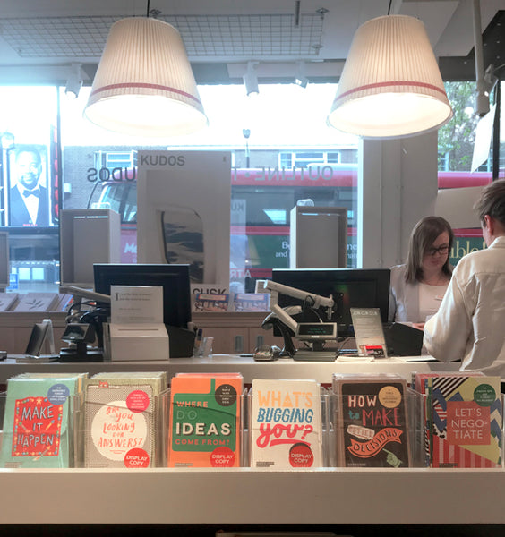 Mapology Guides in Foyles