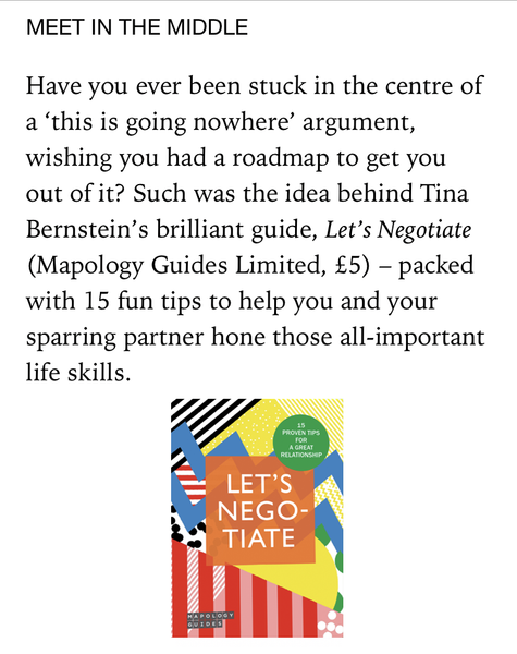 Psychologies - Let's Negotiate