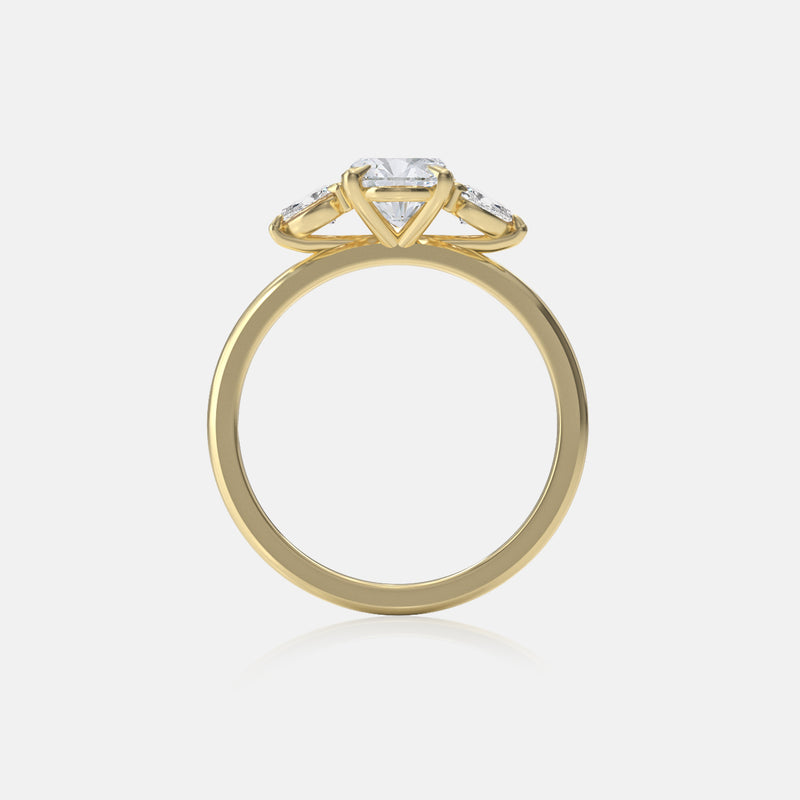 Moissanite Amira Ring