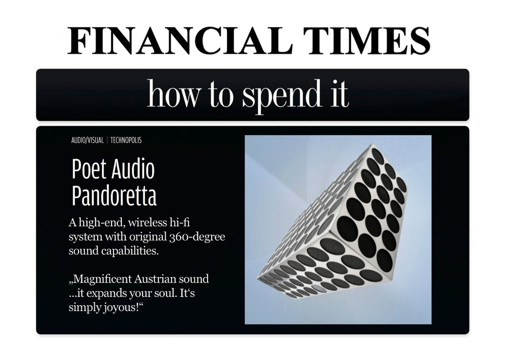 FINANCIAL TIIMES POET AUDIO SOUNDSYSTEMS AUSTRIA