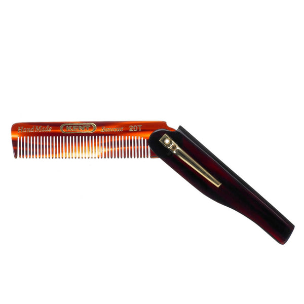 KENT ENGLAND Folding Pocket Comb 20T feinzahnig hangemachter @ Soul Objects, a SoulExperience!