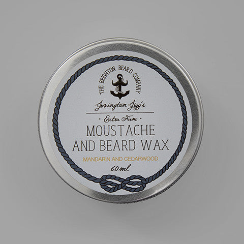 Moustache and Beard Wax Extra Firm