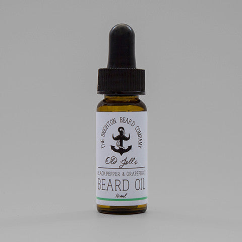 Brighton Beard Company Black Pepper grapefruit Bartöl Beard Oil
