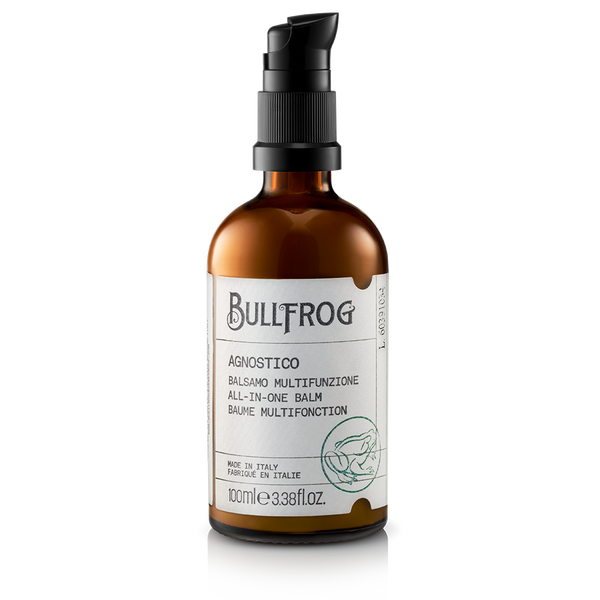 Bullfrog Barbershop Agnostico All in One Balsam Beard Care Italy