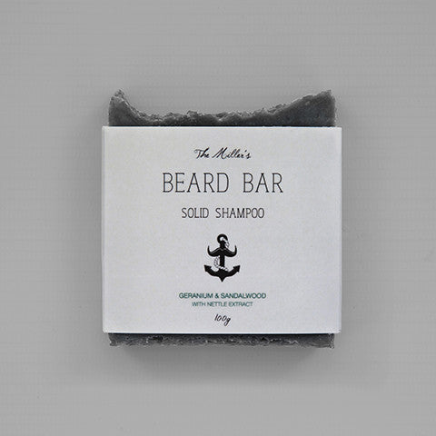 The Miller's Beard Shampoo Bar