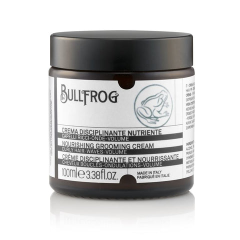 Bullfrog Nourishing Grooming Cream Barbershop Hair Product luxury