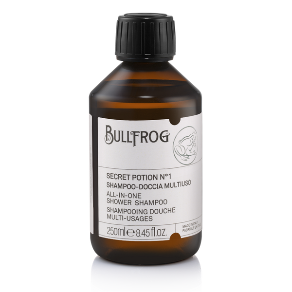 Bullfrog Secret Potion 1 Duschgel Shampoo All in One Italien Barbershop