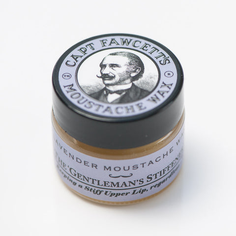 Captain Fawcett Lavender Moustache Wax @Soulobjects Berlin