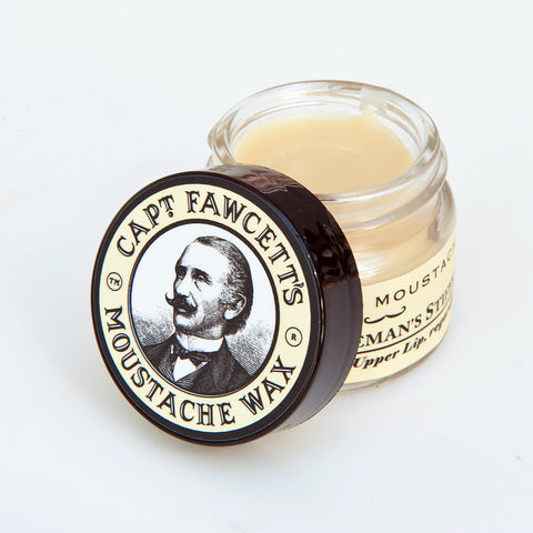 Captain Fawcett Sandelwood Moustache Wax @ Soulobjects Berlin
