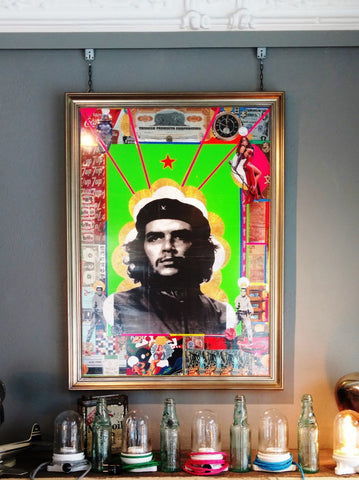 André Boitard Che Guevara Collage Artwork Original
