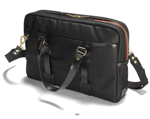 Croots_Tasche_Laptop_Bag_Vintage _Canvas_Black