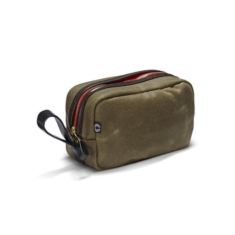 Croots Vintage Canvas Washbag