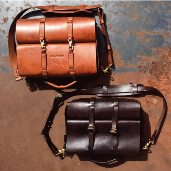ELEPHANT GIN LEATHER TRAVEL BAG