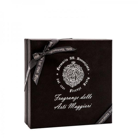 Farmacia-SS-Annunziata-1561-Luxus-Raumduft-Kit-Pastille-Arte-della-Seta-Room-Fragrance