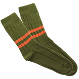 Military double dark orange stripe