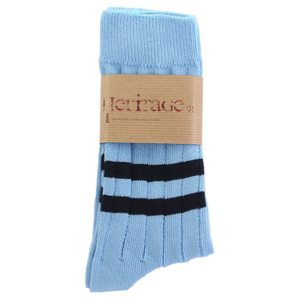 HERITAGE-9.1-Vinatge-Edition-Sky-Socks-Strümpfe-Made-in-Italy