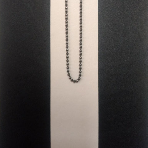 925 Silver Ball Chain fein