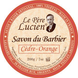 Le_Pere_Lucien_Cedre_Orange_Luxus_Shaving_Soap_Vegan_Frankreich
