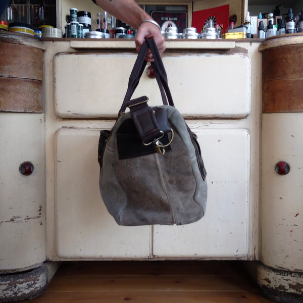 VINTAGE LEDERHOSEN GYM BAG