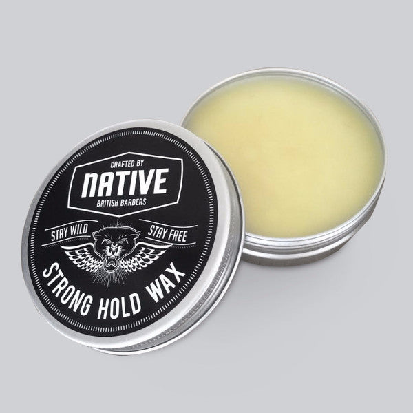 NATIVE Strong Hold Wax British Barbers UK Native Products