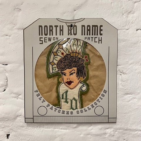 North_No_Name_Felt_Patch_40_Woman_Tokyo_Japan