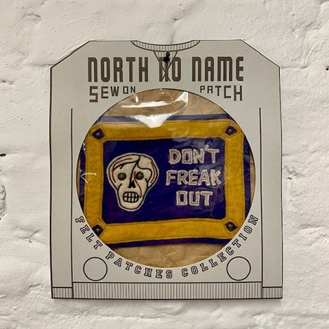 North_No_Name_Felt_Patch_Dont_Freak_Out_Tokyo_Japan