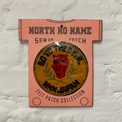 North_No_Name_Felt_Patch_Go_To_The_Devil_Tokyo_Japan
